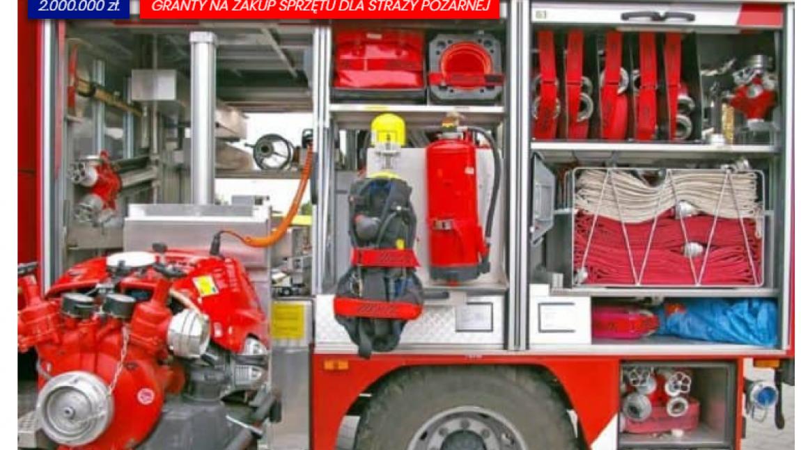 ORLEN dla Strażaków – Granty na zakup sprzętu dla straży pożarnej