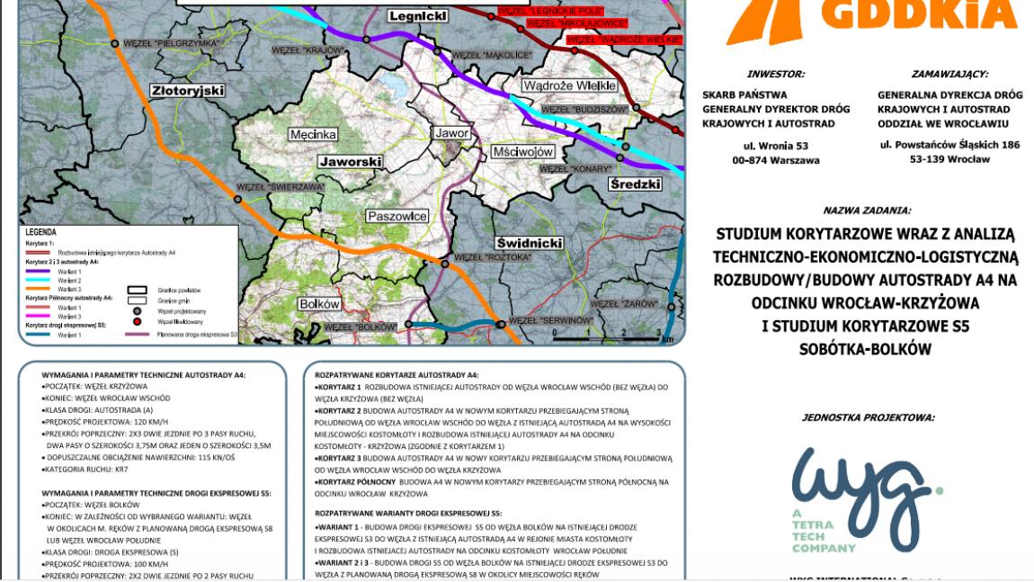 Kolejny termin konsultacji przebiegu A4 - 17.04.2020 r.