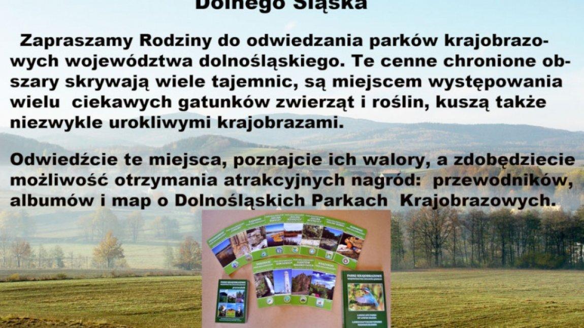 Rodzinnie po Parkach Krajobrazowych Dolnego Śląska