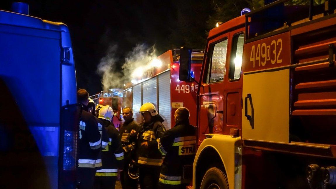 Ciężki grudzień strażaków