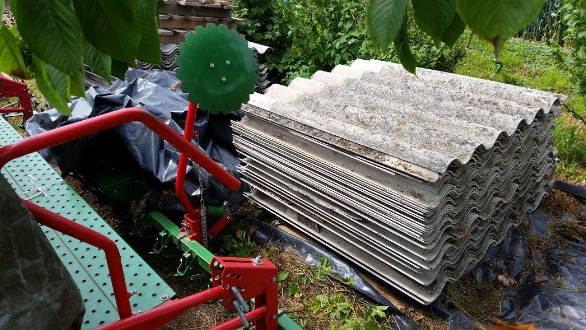 Usuwanie wyrobów azbestowych w 2018 - złożono wniosek o dofinansowanie