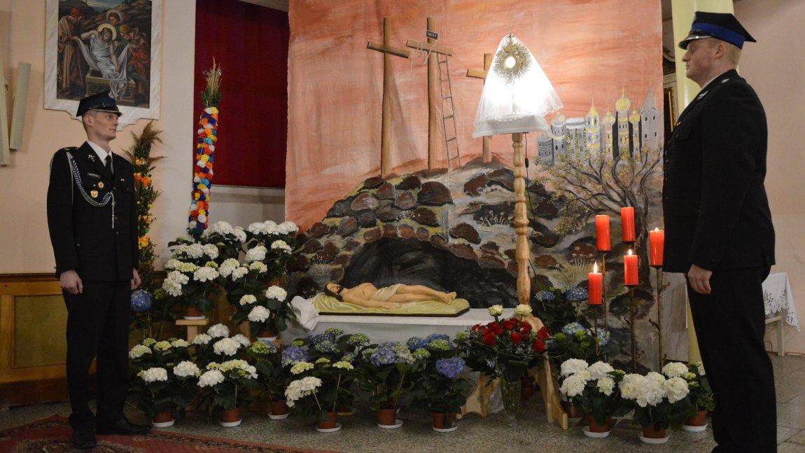 Straż przy Grobie Bożym w Paszowicach.