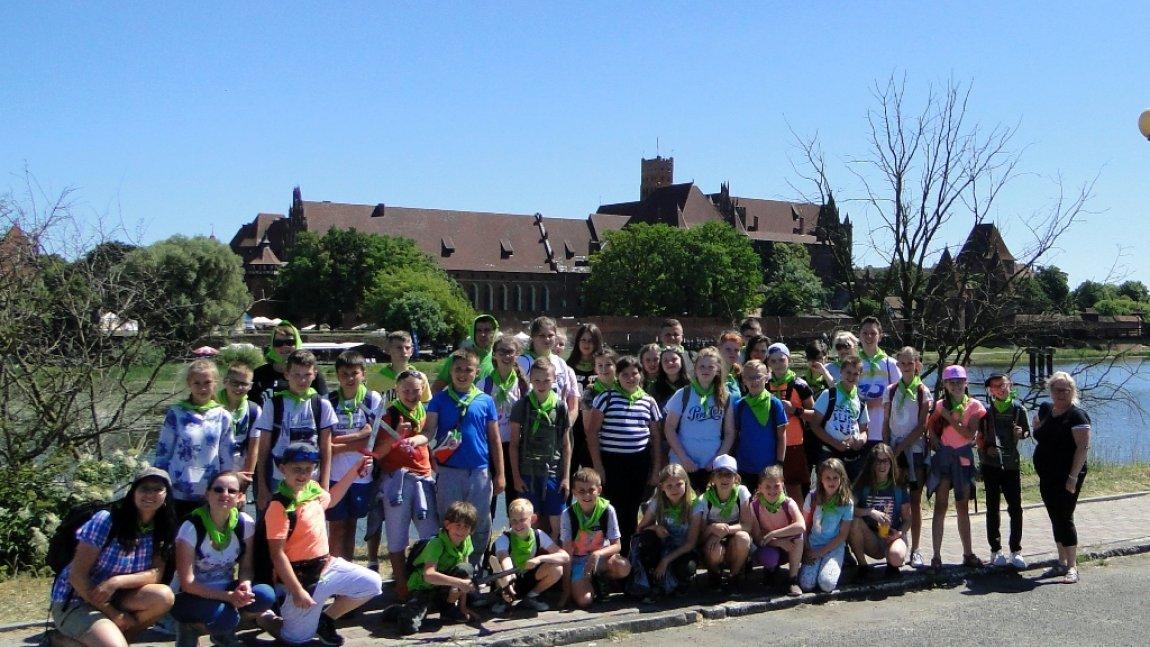 Zielona Szkoła- Jantar i  niezapomniane chwile