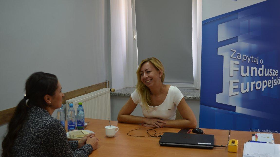 Doradca funduszy europejskich gościł w Paszowicach