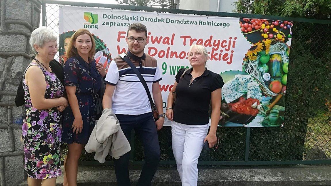 KGW Wiadrów na FESTIWALU TRADYCJI WSI DOLNOŚLĄSKIEJ w Świdnicy